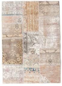 Patchwork - Persien/Iran Matto 107X152 Moderni Käsinsolmittu Vaaleanharmaa/Valkoinen/Creme (Villa, Persia/Iran)