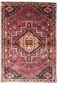 Ghashghai Matto 107X156 Itämainen Käsinsolmittu Tummanpunainen/Tummanruskea (Villa, Persia/Iran)