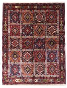 Yalameh Matto 151X195 Itämainen Käsinsolmittu Tummanpunainen/Vaaleanvioletti (Villa, Persia/Iran)