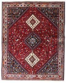 Yalameh Matto 152X193 Itämainen Käsinsolmittu Tummanpunainen/Vaaleanvioletti (Villa, Persia/Iran)