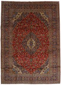 Keshan Matto 303X420 Itämainen Käsinsolmittu Tummanruskea/Tummanpunainen Isot (Villa, Persia/Iran)