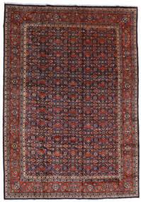 Mahal Matto 267X378 Itämainen Käsinsolmittu Tummanpunainen/Tummanruskea Isot (Villa, Persia/Iran)