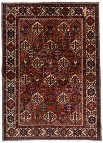 Bakhtiar Matto 153X212 Itämainen Käsinsolmittu Tummanruskea/Tummanpunainen (Villa, Persia/Iran)