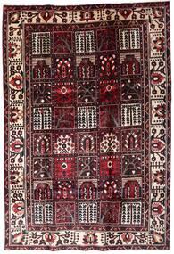 Bakhtiar Matto 205X304 Itämainen Käsinsolmittu Tummanruskea/Tummanpunainen (Villa, Persia/Iran)