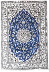 Nain Matto 201X293 Itämainen Käsinsolmittu Tummanharmaa/Beige (Villa, Persia/Iran)
