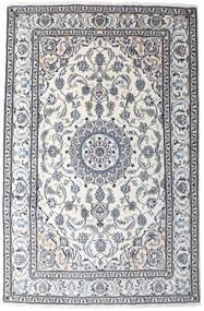 Nain Matto 194X295 Itämainen Käsinsolmittu Valkoinen/Creme/Tummanharmaa (Villa, Persia/Iran)
