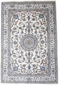Nain Matto 198X290 Itämainen Käsinsolmittu Beige/Tummanharmaa/Valkoinen/Creme (Villa, Persia/Iran)