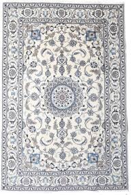 Nain Matto 189X283 Itämainen Käsinsolmittu Vaaleanharmaa/Beige/Valkoinen/Creme (Villa, Persia/Iran)