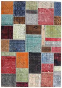 Patchwork - Persien/Iran Matto 170X242 Moderni Käsinsolmittu Vaaleanvihreä/Tummanharmaa (Villa, Persia/Iran)