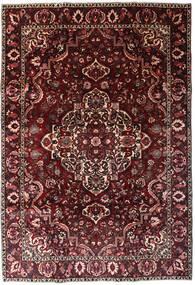 Bakhtiar Matto 202X293 Itämainen Käsinsolmittu Tummanpunainen/Tummanruskea (Villa, Persia/Iran)