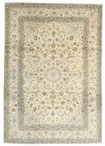 Keshan Matto 241X342 Itämainen Käsinsolmittu Beige/Tummanbeige (Villa, Persia/Iran)