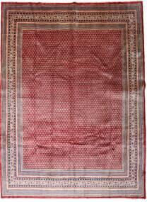 Sarough Mir Matto 267X362 Itämainen Käsinsolmittu Tummanpunainen/Tummanruskea Isot (Villa, Persia/Iran)