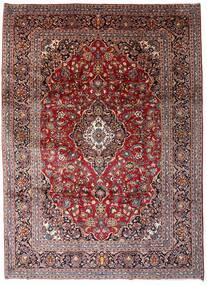 Keshan Matto 246X338 Itämainen Käsinsolmittu Tummanruskea/Tummanpunainen (Villa, Persia/Iran)