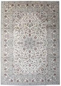 Keshan Matto 245X343 Itämainen Käsinsolmittu Vaaleanharmaa/Tummanharmaa (Villa, Persia/Iran)