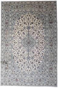 Keshan Matto 246X366 Itämainen Käsinsolmittu Vaaleanharmaa/Tummanharmaa (Villa, Persia/Iran)