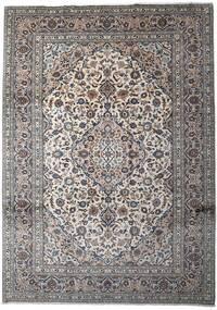 Keshan Matto 252X350 Itämainen Käsinsolmittu Vaaleanharmaa/Tummanharmaa Isot (Villa, Persia/Iran)