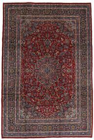 Mashad Matto 210X310 Itämainen Käsinsolmittu Tummanpunainen/Musta (Villa, Persia/Iran)