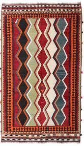 Kelim Vintage Matto 157X270 Itämainen Käsinkudottu Tummanpunainen/Tummanruskea (Villa, Persia/Iran)