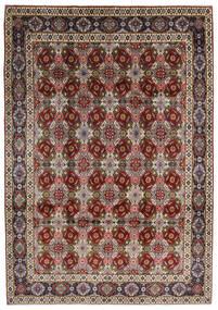 Keshan Matto 218X316 Itämainen Käsinsolmittu Vaaleanruskea/Vaaleanharmaa (Villa, Persia/Iran)