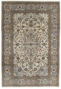 Keshan Matto 195X288 Itämainen Käsinsolmittu Tummanharmaa/Vaaleanharmaa (Villa, Persia/Iran)