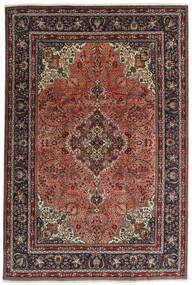 Tabriz Matto 198X294 Itämainen Käsinsolmittu Tummanharmaa/Musta (Villa, Persia/Iran)