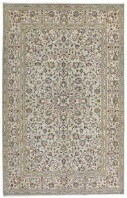 Keshan Matto 190X301 Itämainen Käsinsolmittu Vaaleanharmaa/Tummanharmaa (Villa, Persia/Iran)
