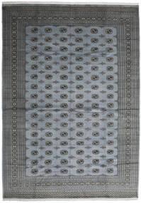 Pakistan Bokhara 2Ply Matto 306X415 Itämainen Käsinsolmittu Vaaleansininen/Tummanharmaa/Sininen Isot (Villa, Pakistan)