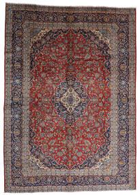 Keshan Matto 287X403 Itämainen Käsinsolmittu Tummanpunainen/Tummanruskea Isot (Villa, Persia/Iran)