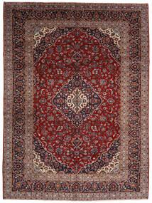 Keshan Matto 294X400 Itämainen Käsinsolmittu Tummanpunainen Isot (Villa, Persia/Iran)