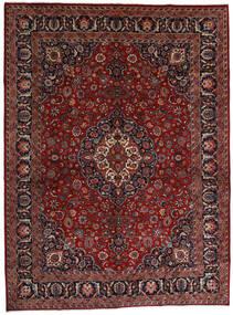 Mashad Matto 289X390 Itämainen Käsinsolmittu Tummanpunainen/Tummanharmaa Isot (Villa, Persia/Iran)