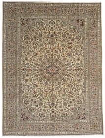 Keshan Matto 292X389 Itämainen Käsinsolmittu Vaaleanharmaa/Vaaleanruskea Isot (Villa, Persia/Iran)