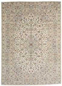 Keshan Matto 253X352 Itämainen Käsinsolmittu Vaaleanharmaa/Tummanbeige/Beige Isot (Villa, Persia/Iran)