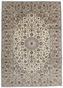 Keshan Matto 250X348 Itämainen Käsinsolmittu Vaaleanharmaa/Tummanharmaa Isot (Villa, Persia/Iran)