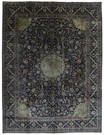 Kashmar Matto 290X384 Itämainen Käsinsolmittu Musta/Tummanruskea Isot (Villa, Persia/Iran)