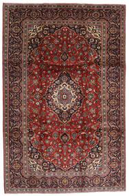 Keshan Matto 238X364 Itämainen Käsinsolmittu Tummanpunainen/Musta (Villa, Persia/Iran)