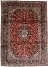 Keshan Matto 263X366 Itämainen Käsinsolmittu Tummanpunainen/Tummanharmaa Isot (Villa, Persia/Iran)