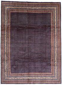 Sarough Mir Matto 268X365 Itämainen Käsinsolmittu Musta/Tummanvioletti Isot (Villa, Persia/Iran)