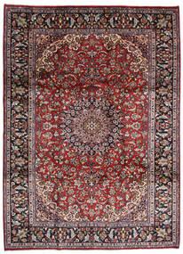 Najafabad Matto 248X340 Itämainen Käsinsolmittu Tummanruskea/Tummanpunainen (Villa, Persia/Iran)