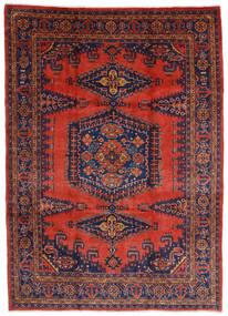 Wiss Matto 245X340 Itämainen Käsinsolmittu Tummanpunainen/Ruoste (Villa, Persia/Iran)