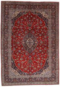 Keshan Matto 278X400 Itämainen Käsinsolmittu Tummanpunainen/Ruskea Isot (Villa, Persia/Iran)