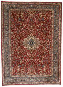 Sarough Matto 282X392 Itämainen Käsinsolmittu Tummanruskea/Vaaleanruskea/Tummanpunainen Isot (Villa, Persia/Iran)