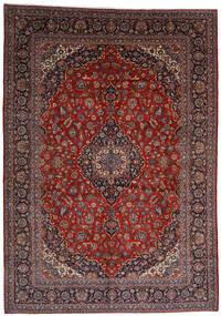Keshan Matto 303X403 Itämainen Käsinsolmittu Tummanpunainen Isot (Villa, Persia/Iran)