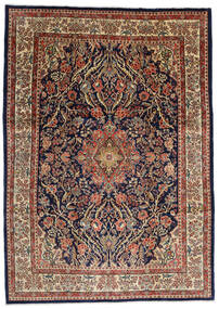 Sarough Matto 277X387 Itämainen Käsinsolmittu Tummanruskea/Vaaleanruskea Isot (Villa, Persia/Iran)