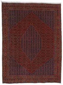 Bidjar Matto 304X404 Itämainen Käsinsolmittu Tummanpunainen/Tummanruskea Isot (Villa, Persia/Iran)
