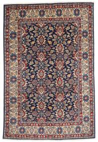 Varamin Sherkat Farsh Matto 190X287 Itämainen Käsinsolmittu Vaaleanruskea/Tummanvioletti (Villa, Persia/Iran)