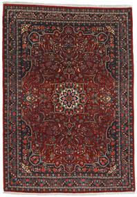 Bidjar Matto 220X315 Itämainen Käsinsolmittu Tummanpunainen/Tummanharmaa (Villa, Persia/Iran)