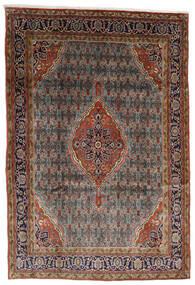 Bidjar Matto 225X330 Itämainen Käsinsolmittu Tummanruskea/Vaaleanruskea (Villa, Persia/Iran)