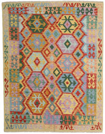 Kelim Afghan Old Style Matto 152X198 Itämainen Käsinkudottu Vaaleanharmaa/Punainen (Villa, Afganistan)