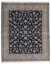 Nain 9La Matto 202X250 Itämainen Käsinsolmittu Vaaleanharmaa/Musta (Villa/Silkki, Persia/Iran)
