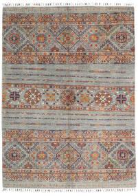 Shabargan Matto 150X204 Moderni Käsinsolmittu Vaaleanharmaa/Tummanharmaa (Villa, Afganistan)